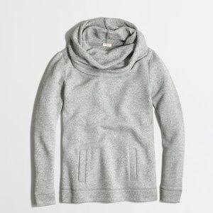 J. Crew Factory Funnelneck Sweatshirt